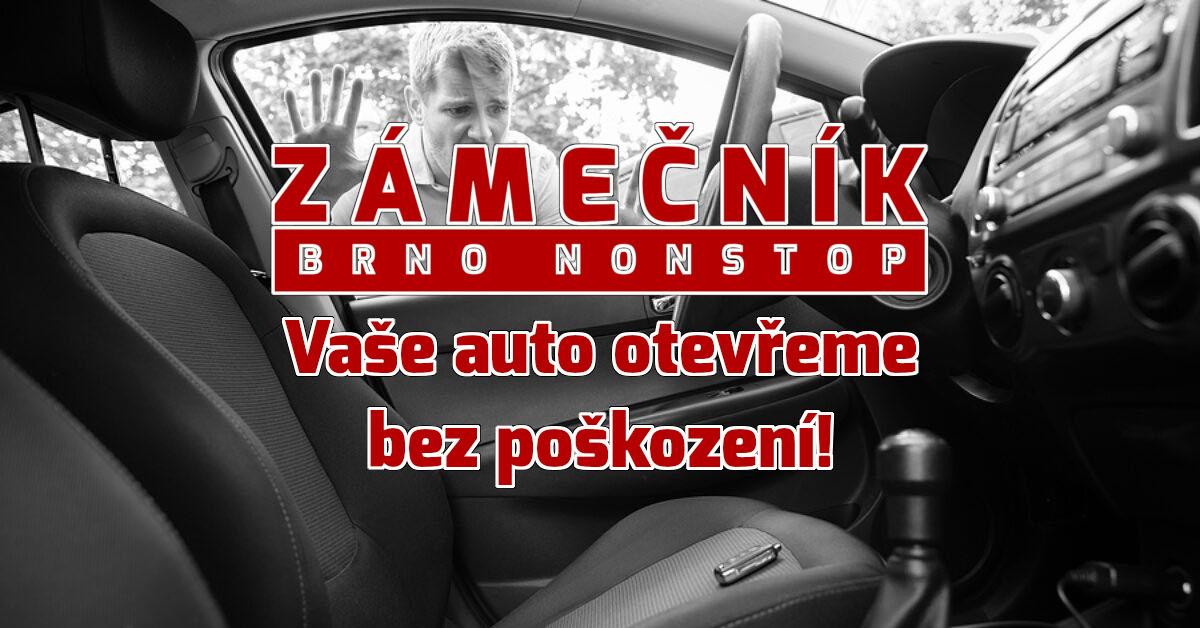 Otevření zamčeného auta | Zámečník Brno non-stop